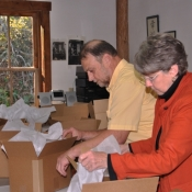 bill & sharon packing