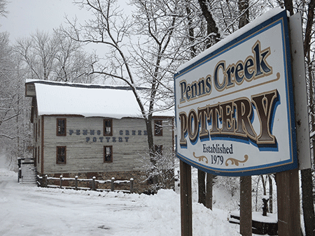 Penns Creek Pottery mill